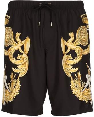 Baroque Printed Nylon Swim Shorts