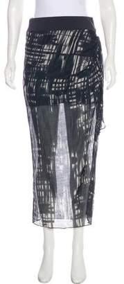 Bailey 44 Printed Midi Skirt
