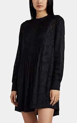 Rag & Bone Women's Rubie Floral-Burnout Shirtdress - Black
