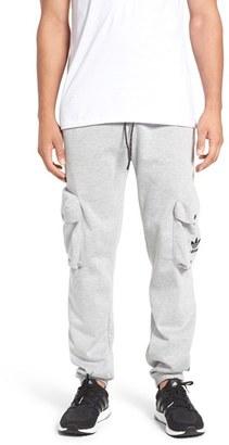 Men's Adidas Originals 'Mad Plaid' Knit Cargo Jogger Pants $90 thestylecure.com