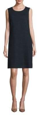 Peserico Check Cotton Sheath Dress