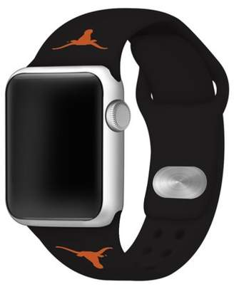 Affinity Bands Texas Longhorns Silicone Sport Band for Apple Watch - 42mm Black