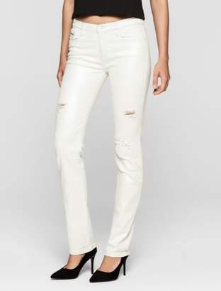 Calvin Klein straight leg light iridescent jeans