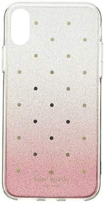 Kate Spade Glitter Ombre Dot Phone Case for iPhone X Cell Phone Case