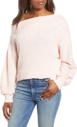 Gibson Marilyn Off the Shoulder Sweater