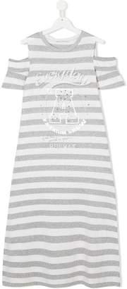 Elsy TEEN gem stud embellished T-shirt dress