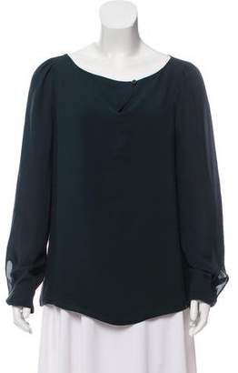 Sonia Rykiel Silk long Sleeve Top