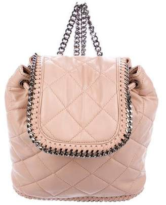 Stella McCartney Mini Quilted Falabella Backpack