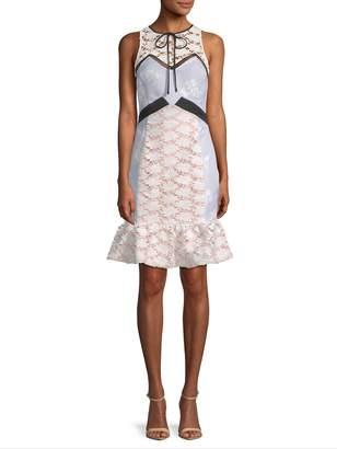 Endless Rose Women's Penelia Contrast Sheath Dress
