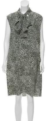 Stella McCartney Polka Dot Print Mini Dress