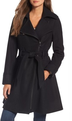 Women's Catherine Catherine Malandrino Fit & Flare Coat
