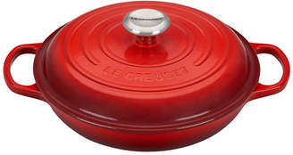 Le Creuset 2.25-Qt. Signature Braiser with Stainless Steel Knob