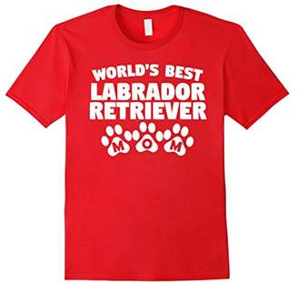 World's Best Labrador Retriever Mom T-Shirt