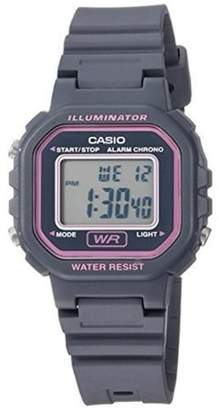 Casio Ladies Digital Casual Watch, Grey