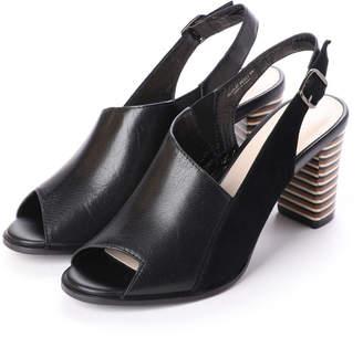 UNTITLED (アンタイトル) - アンタイトル シューズ UNTITLED shoes アシンメトリーデザインサンダル