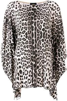 Class Roberto Cavalli leopard print blouse