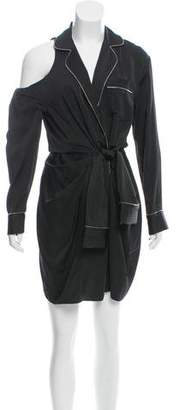 Alexander Wang Pajama Wrap Silk Mini Dress w/ Tags
