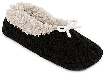 JCPenney Asstd National Brand Plush Slipper Socks