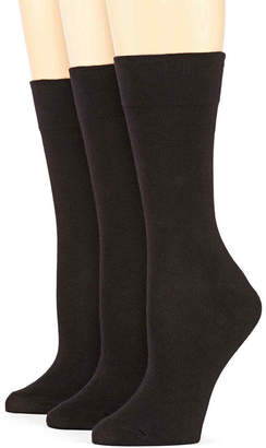 JCPenney MIXIT Mixit 3-pk. Comfort Top Crew Socks