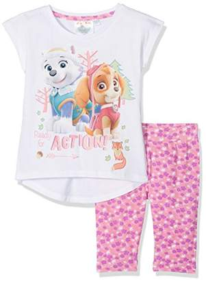 Nickelodeon Girl's Paw Patrol Forest Clothing Set