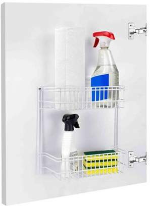 Home Basics 2-Tier Stainless Steel Dish Rack