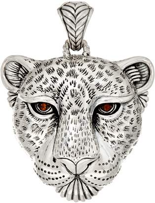 Jai JAI Sterling Silver Leopard Enhancer, 29.4g