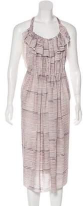 See by Chloe Striped Midi Dress w/ Tags