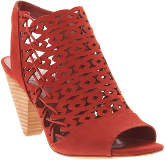 c35430a5d2f Vince Camuto Red Heeled Women s Sandals - ShopStyle
