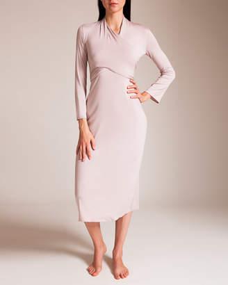 Grazia'Lliani Grazialliani Micromodal Wrap Gown
