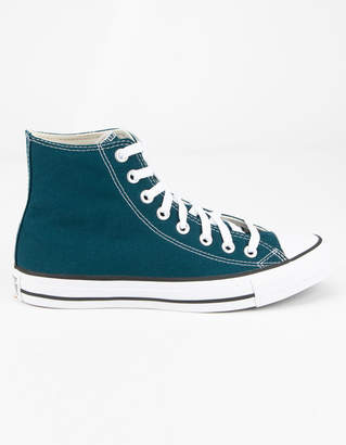 Converse Chuck Taylor All Star Seasonal Color High Top Midnight Turq Womens Shoes