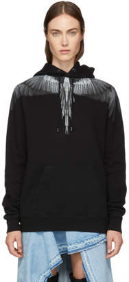 Marcelo Burlon County of Milan Black Wings Hoodie