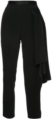 Kovalska cropped asymmetric trousers