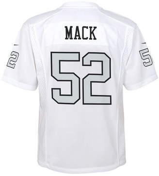 Nike Khalil Mack Oakland Raiders Color Rush Jersey, Big Boys (8-20)