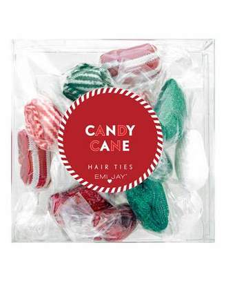 styling/ Emi Jay Candy Cane Hair Ties 12-Pack