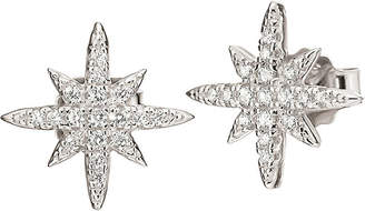 Folli Follie Fashionably silver snowflake earrings