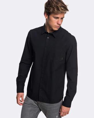 Quiksilver Mens Straight Up Long Sleeve Shirt
