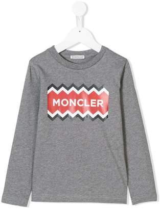 Moncler zig-zag logo sweatshirt