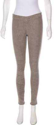 Linea Pelle Suede Leggings w/ Tags