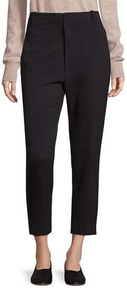 Vince Women's Carrot-Fit Cropped Pants