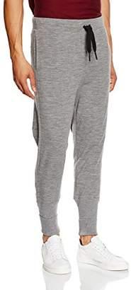 One Piece OnePiece Pant Merino Sports Trousers, (Grey Mel), 35W x 31L (Size: X-Small)