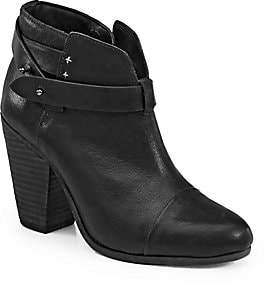Rag & Bone Women's Harrow Leather Ankle Boots