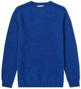 Officine Generale Shetland Wool Crew Knit