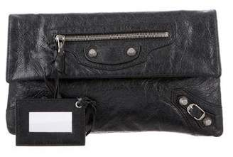 Balenciaga Motocross Giant 12 Envelope Clutch