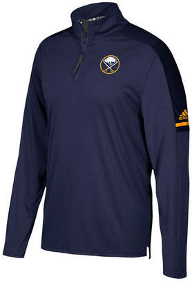 adidas Men's Buffalo Sabres Authentic Pro Quarter-Zip Pullover