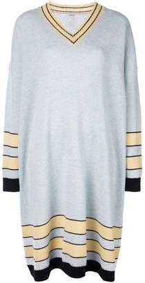 Loewe striped sweater dress
