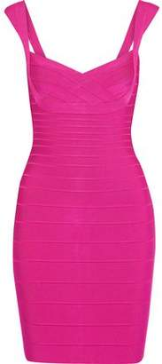 fb609bbf204 Herve Leger Purple Bandage Dresses - ShopStyle