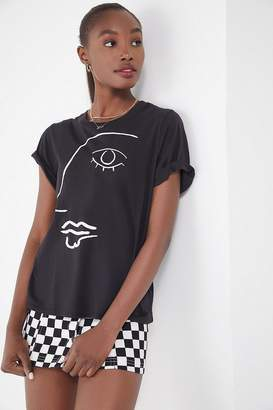 Truly Madly Deeply Sketch Face Tee
