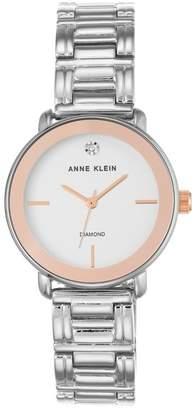 Anne Klein Women's Diamond Dial Bracelet Watch, 32mm - 0.005 ctw