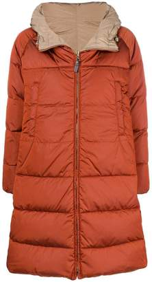 Max Mara 'S reversible hooded padded coat