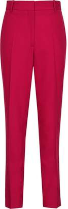 Reiss Livvi Trouser - Slim Fit Tailored Trousers in Magenta
